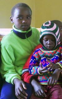 Both of these orphan children still need sponsors