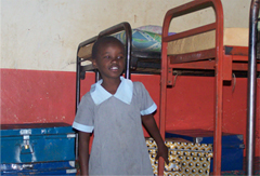 Charity was brought to the orphanage in 2006